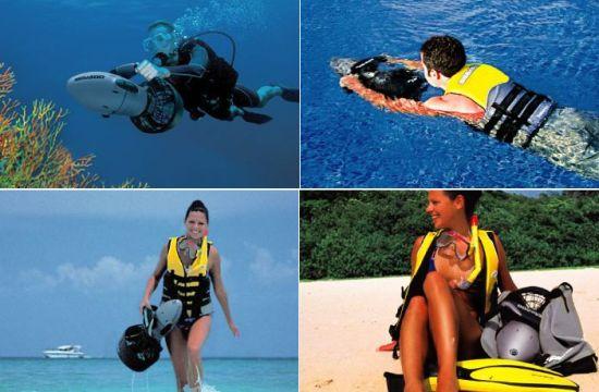 skutery podwodne